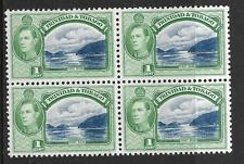 TRINIDAD & TOBAGO, KGV1, 1938 DEFINS, 1c  SG 246, MNH BLOCK 4, CAT 4.00 GBP