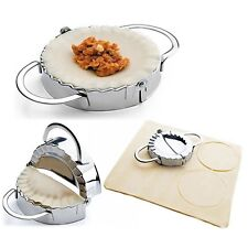 Newest 1PC Stainless Steel Dumpling Maker and Dough Press for Home Kitchen Tools