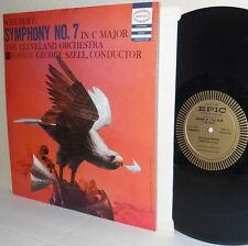 50's SCHUBERT Symphony No.7 GEORGE SZELL Cleveland Orch LP Epic LC 3431 M- Vinyl