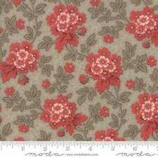 Moda French General Atelier De France Floral Bordeaux Fabric in Roche 13801-15