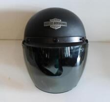 Harley Davidson Motorcycle Full Face Helmet HD-25 Size M Matte Black DOT