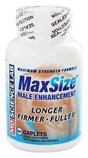 Max Size Male Enhancement Longer Firmer Fuller Sex Enhancer 60 Capsules