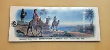Season's Greetings Ink Blotter by Brenner Candy Co, Green Bay, Wisconsin