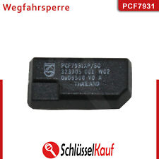 ID33 Transponder PCF7931 Wegfahrsperre Chip Auto VW Opel Neu unprogrammiert
