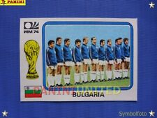 Panini★WM 1974 WorldCup WC 74★Team-Bild Bulgarien / Team sticker Bulgaria
