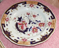 ANTIQUE CHAMBERLAINS WORCESTER HAND PAINTED PLATE