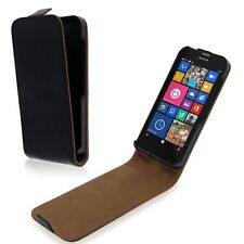 FOR Nokia Lumia 630/635 PU Leather Magnetic Flip Case Skin Cover