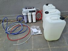 More details for ro and di unit 5 stage water reverse osmosis tropical marine aquarium fish tank