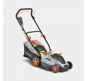 1600W Lawnmower 36cm Cutting Width & Adjustable Trimming Height Gardening
