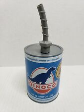 Disney Parks Cars Land Dinoco Motor Oil Souvenir Drinking Cup Blue HTF