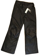 Tsla Youth Snow Pants Size 14-16 Insulated Padded Black Nwt