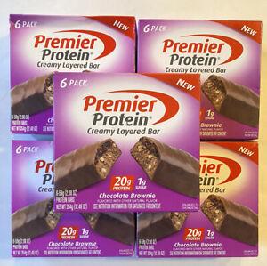 Premier Protein 20g Protein Bar 2.08 Oz - 48 Bars - CHOCOLATE BROWNIE - 04/2021