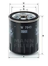 MANN W7043 Oil Filter Fit Ford