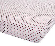 Linge de lit et ensembles rouge modernes pour chambre en 100% coton