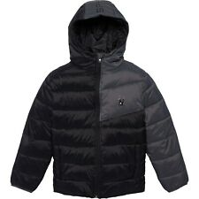 Spyder Black ThermaWeb Xt Insulated Ace Hooded Puffer Jacket Boys Sz 5 $149 New
