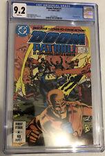 Doom Patrol #1 CGC 9.2 1987 DC Comics wraparound cover TV Show white pages