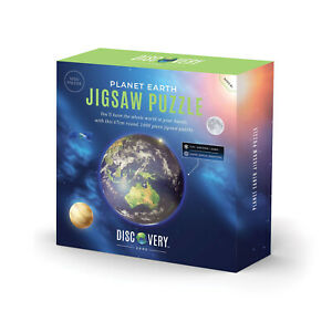 Discovery Zone Earth Round Jigsaw Puzzle - 1000pcs - 70cm Diameter