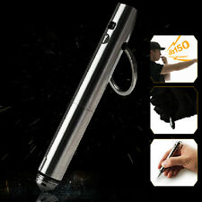 Dito Stainless Steel Tactical Pen defense Glass Breaker Tool Whistle Keychain