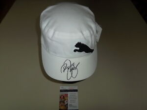 Rickie Fowler Signed White Puma Hat JSA #M45612 New With Tags PGA Autograph