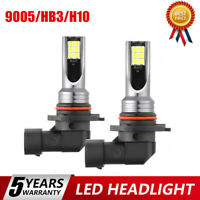 2X 9005 LED Headlight Kits 110W 20000LM FOG Light Bulb 6000K Driving DRL Lamps@