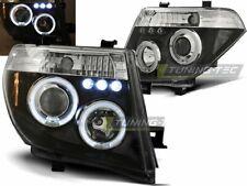 NEUF Projecteurs pour Nissan NAVARA D40 PATHFINDER 2005-2010 Angel Eyes Noir FR