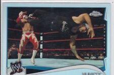2014 TOPPS WWE MEXICO HUNICO REFRACTOR PARALLEL WRESTLING CARD #71