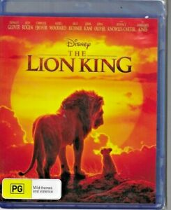 BLU RAY - THE LION KING (2019) BLU-RAY DONALD GLOVER   SETH ROGEN - LION KING