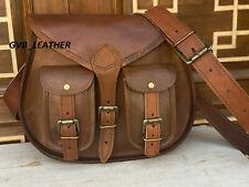 Dynamic Women Vintage Leather Large Hobo Purse Messenger Cross Body Bag Handmade