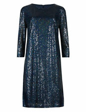 Marks and Spencer Crew Neck Party Tunic Dresses for Women