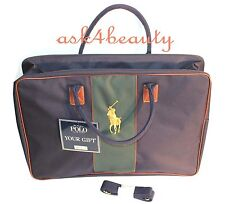 POLO Ralph Lauren Big Pony Travel Luggage Bag With Shoulder Strap 948b7df3a7d52