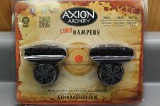 Axion Archery Hybrid Limb Damper Small Black w/ Black Aaa-3900Sb-B