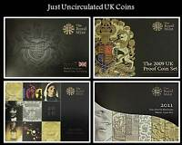 Royal Mint 1999-2017 Proof Set Certificate of Authenticity Documents