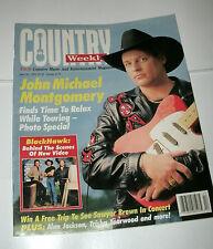 COUNTRY WEEKLY 1995 APRIL 25, JOHN MICHAEL MONTGOMERY;BLACKHAWK;MARK CHESNUTT
