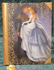 Disney Designer Fairytale Doll Collection Princess Cinderella Journal LE NEW!