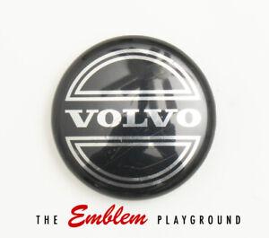 "Volvo Wheel Center Hub Cap Black 2 1/2"" Genuine Factory OEM 8646379 9472026"