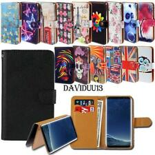 Leather Smart Stand Wallet Case Cover For Various Samsung Galaxy J1 J2