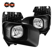 11-15 Ford F250 F350 Super Duty Fog Light Kit + Harness Clear w/Bulb Bezel