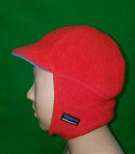 CUTE Youth Patagonia Red Fleece Winter Hat Medium Sledding Kids Snow Vintage M