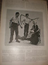 Printed photo Play scene The Professor's love Story at St james's 1903 ref Z