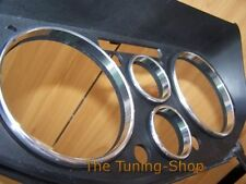 Fits Mitsubishi FTO Set de 6 Chrome Cadran Horloge Volt + anneaux Poli Aluminium