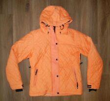 ROXY Bright Orange Warm QUILTED WINTER JACKET Ski Snowboard Coat Sz Women MEDIUM