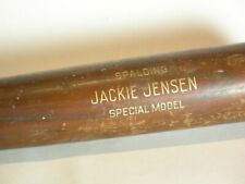 Vintage Jackie Jensen Special Model by Spalding  32 in Wooden Bat