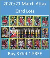 2020/21 Match Attax UEFA - Choose # of cards + Limited and 100 club - 20% Shiny