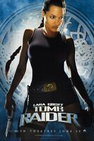 Lara Croft Tomb Raider movie poster 11 x 17 inches - Angelina Jolie poster (c)