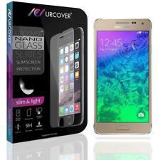 Samsung Galaxy Alpha Echt Hard Glas Display Schutz Folie Ultra Slim Clear