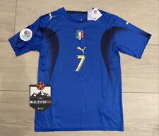 Maglia Italia Mondiali 2006 - Cannavaro Totti Pirlo Materazzi Juve Italy Calcio