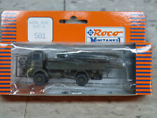 Roco Minitanks (NEW) Modern West German Daimler Benz 1017A Truck Lot #1875