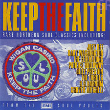 Keep The Faith 24 Track Northern Soul CD New & Sealed