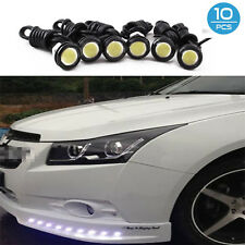 10x 9W White Eagle Eye 18mm LED Motor Car Daytime Running DRL Tail Backup Bulbs
