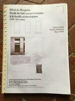 Hotel Di Mongelas Studio Del Supporto Complementare Alla Dig Archeologico Xive
